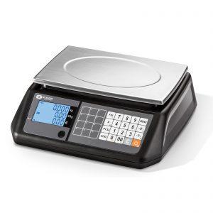 електронна везна.Търговска везна S300 FM